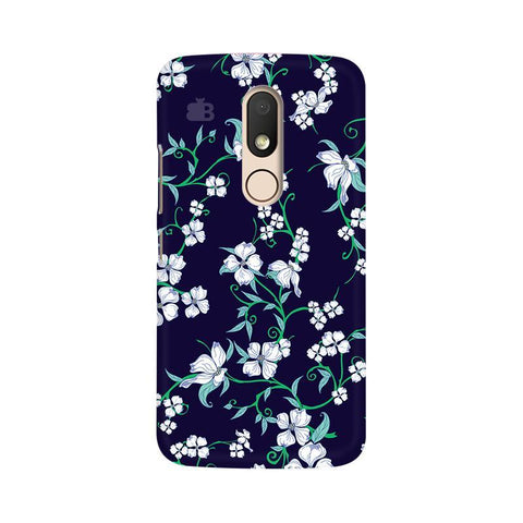 Dogwood Floral Pattern Moto M Phone Cover