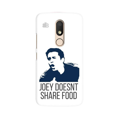Joey doesnt share food Moto M Phone Cover