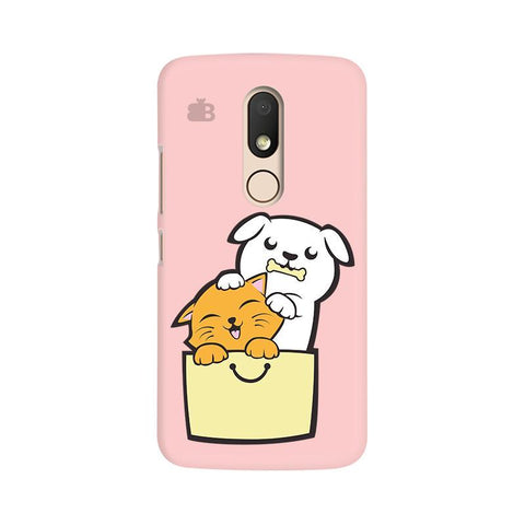 Kitty Puppy Buddies Moto M Phone Cover