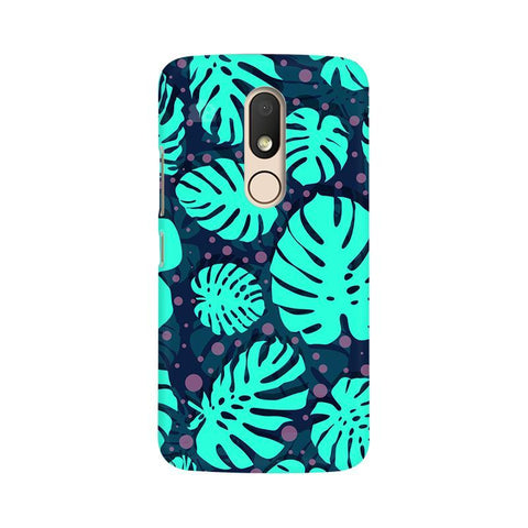 Tropical Leaves Pattern Moto M Phone Cover
