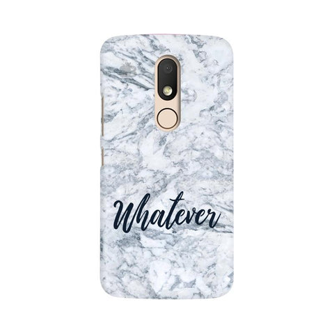 Whatever Moto M Phone Cover