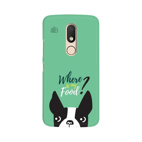 Where is my Food Moto M Phone Cover