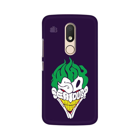 Why So Serious Moto M Phone Cover