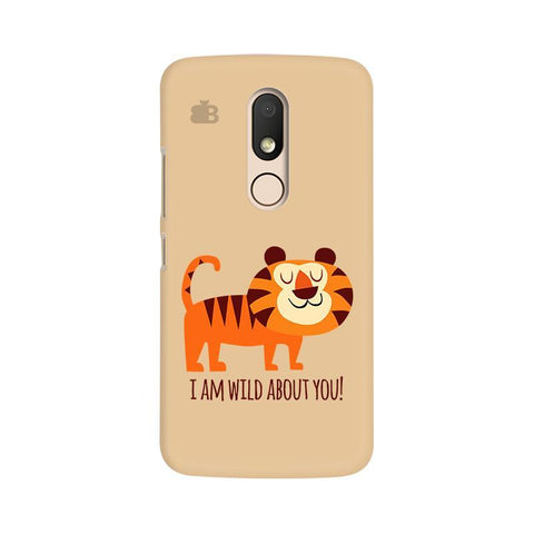 Wild About You Moto M Phone Cover