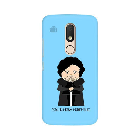 You Know Nothing Moto M Phone Cover