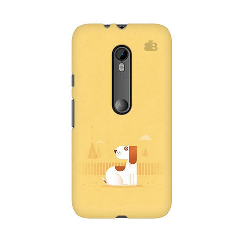 Calm Dog Moto X Force Phone Cover