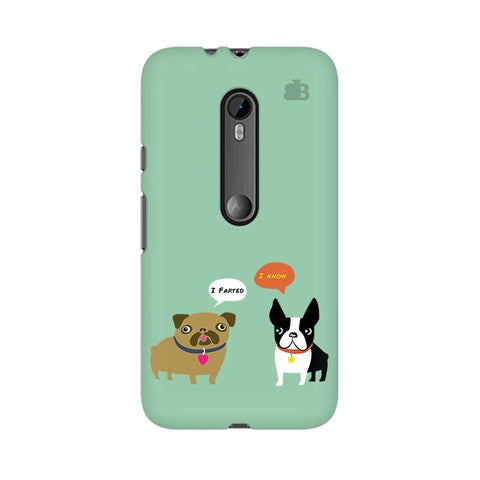 Cute Dog Buddies Moto X Force Phone Cover