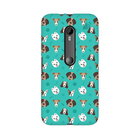 Doggie Pattern Moto X Force Phone Cover