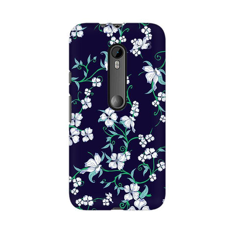 Dogwood Floral Pattern Moto X Force Phone Cover