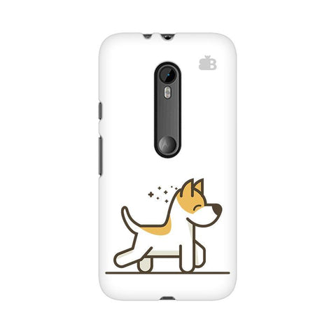 Happy Puppy Moto X Force Phone Cover