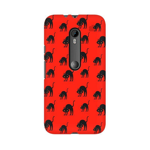 Scary Cats Moto X Force Phone Cover