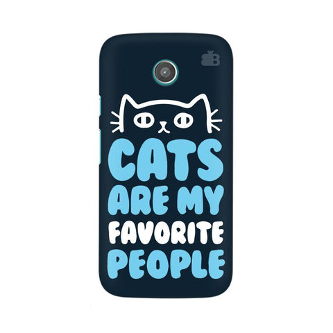 Cats favorite People Moto X Phone Cover