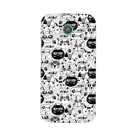 Cute Cats Pattern Moto X Phone Cover