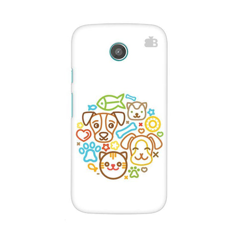 Cute Pets Moto X Phone Cover