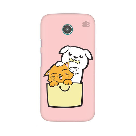Kitty Puppy Buddies Moto X Phone Cover