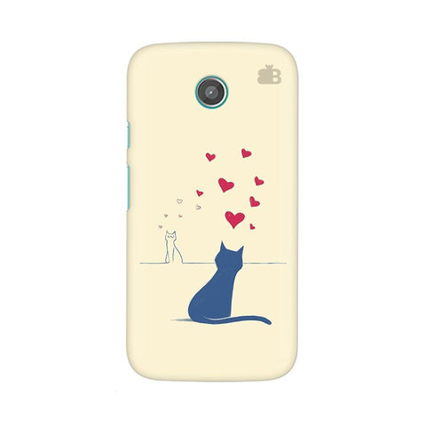Kitty in Love Moto X Phone Cover