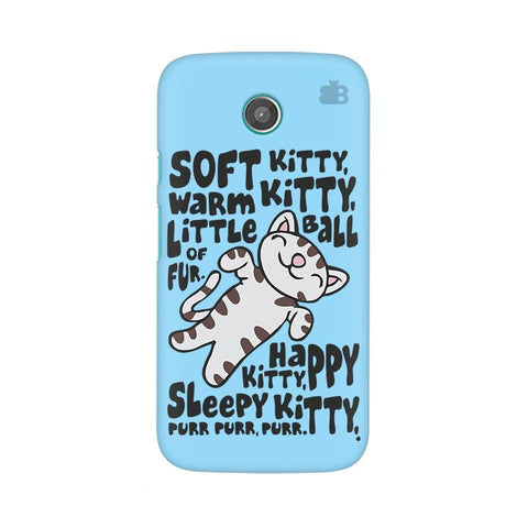 Soft Kitty Moto X Phone Cover