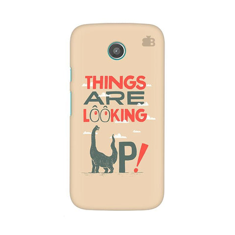 Things are looking Up Moto X Phone Cover