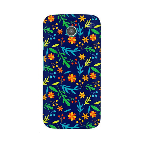 Vibrant Floral Pattern Moto X Phone Cover