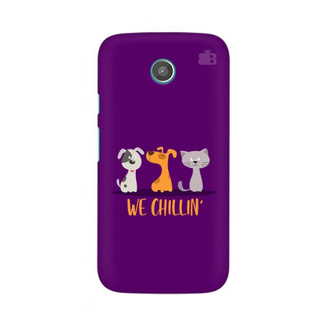 We Chillin Moto X Phone Cover