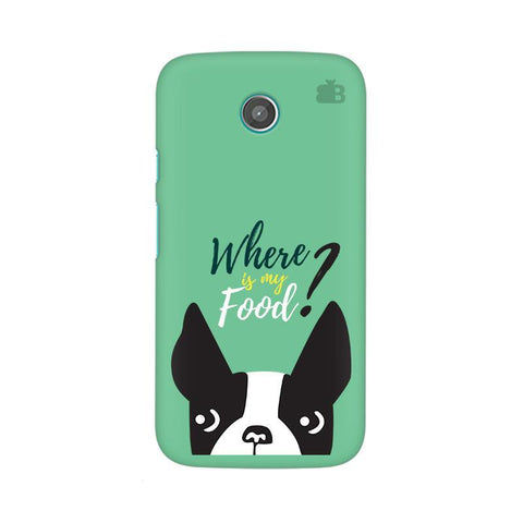 Where is my Food Moto X Phone Cover