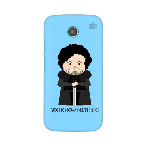 You Know Nothing Moto X Phone Cover