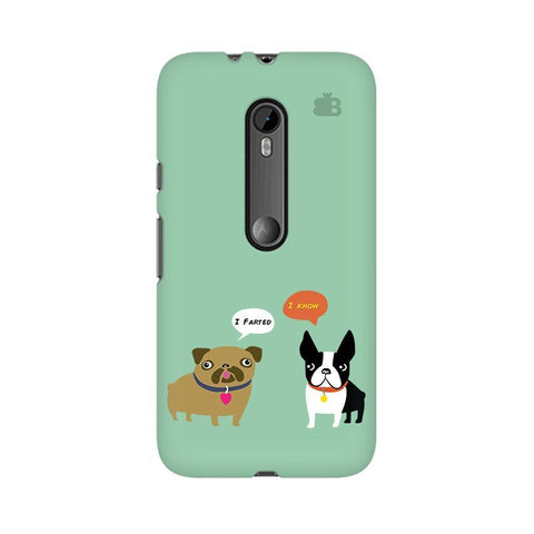 Cute Dog Buddies Moto X Play Phone Cover