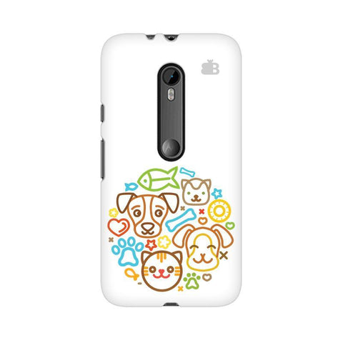 Cute Pets Moto X Play Phone Cover
