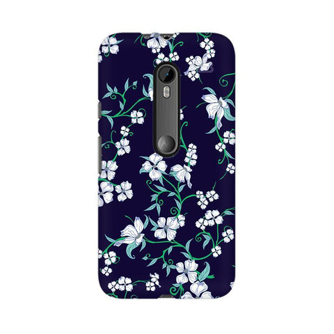 Dogwood Floral Pattern Moto X Play Phone Cover