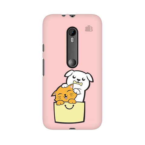 Kitty Puppy Buddies Moto X Play Phone Cover