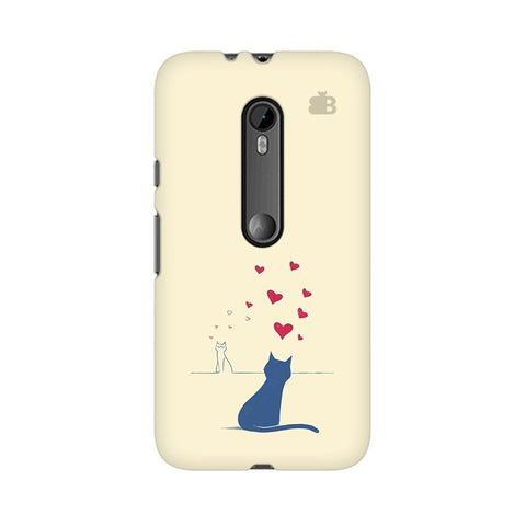 Kitty in Love Moto X Play Phone Cover
