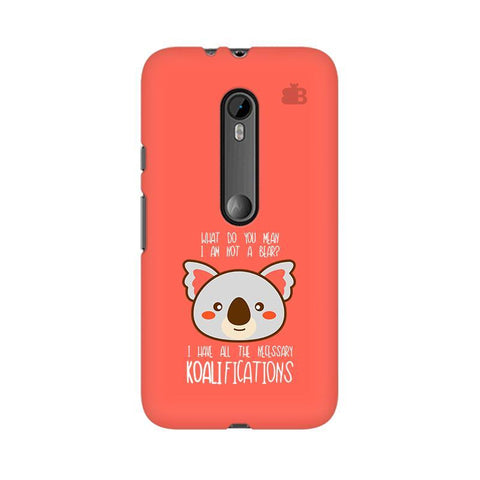 Koalifications Moto X Play Phone Cover