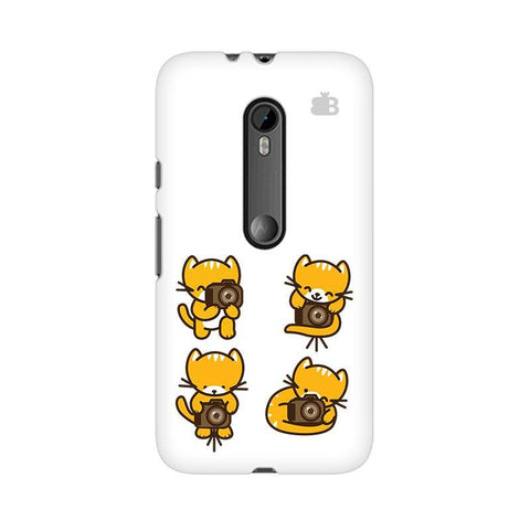 Photographer Kitty Moto X Play Phone Cover