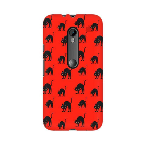 Scary Cats Moto X Play Phone Cover