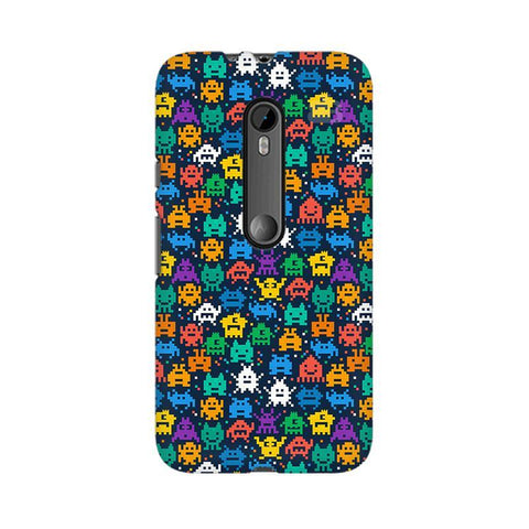 16 Bit Pattern Moto X Style Phone Cover