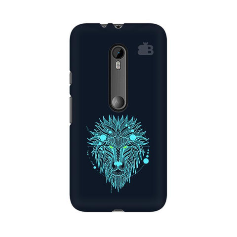 Abstract Art Lion Moto X Style Phone Cover