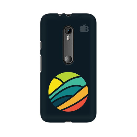 Abstract Circle Moto X Style Phone Cover