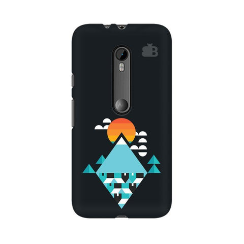 Abstract Mountains Moto X Style Phone Cover