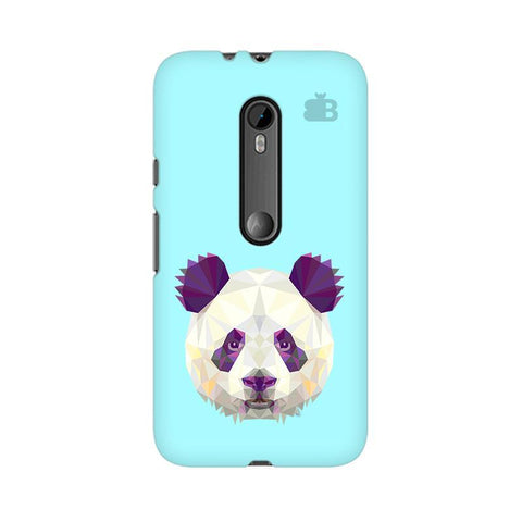 Abstract Panda Moto X Style Phone Cover