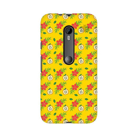 Apples & Flowers Moto X Style Phone Cover