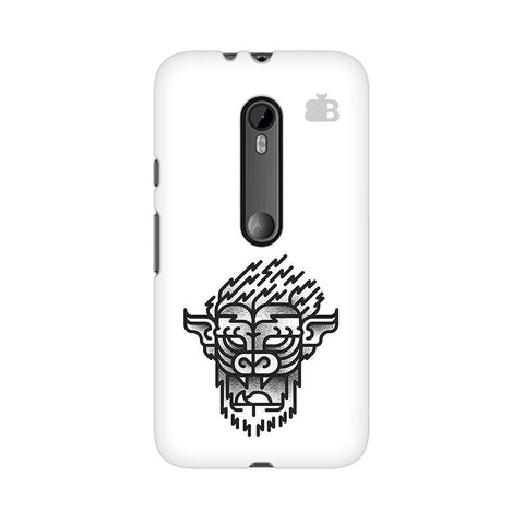 Arty Lion Moto X Style Phone Cover