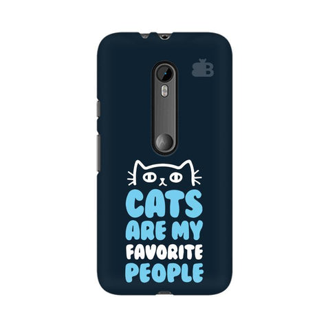 Cats favorite People Moto X Style Phone Cover