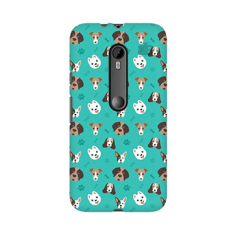 Doggie Pattern Moto X Style Phone Cover
