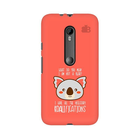 Koalifications Moto X Style Phone Cover
