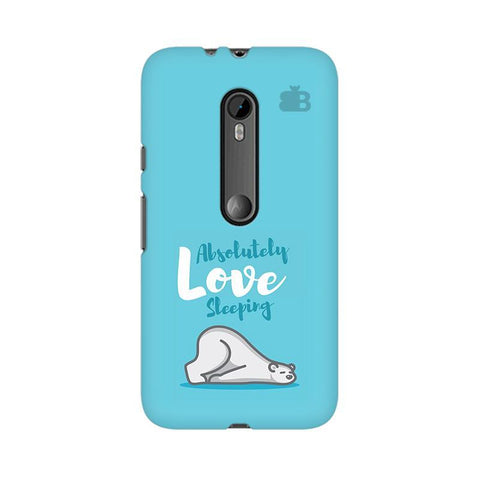 Love Sleeping Moto X Style Phone Cover
