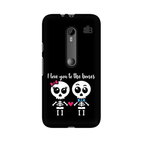 Love to the Bones Moto X Style Phone Cover