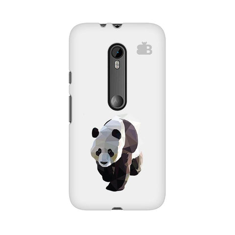 Low Poly Panda Moto X Style Phone Cover