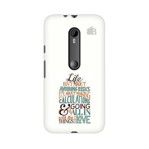 Making Calculations Moto X Style Phone Cover
