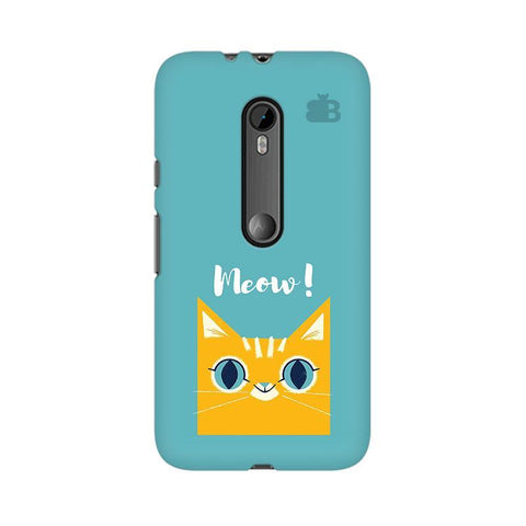 Meow Moto X Style Phone Cover