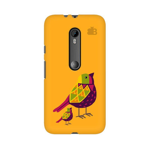 Mom Kid Bird Moto X Style Phone Cover